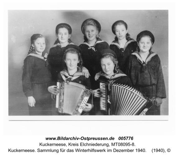 Kuckerneese. Sammlung für das Winterhilfswerk im Dezember 1940