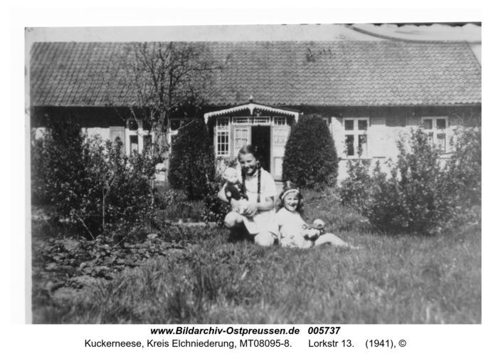 Kuckerneese. Hannelore und Christel Huwe, Lorkstr 13