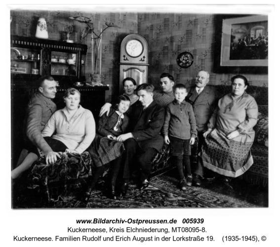 Kuckerneese. Familien Rudolf und Erich August in der Lorkstraße 19