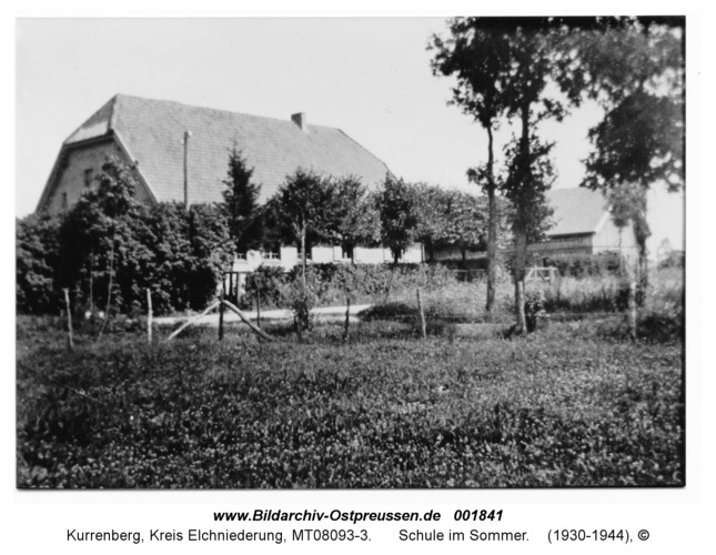 Kurrenberg, Schule im Sommer