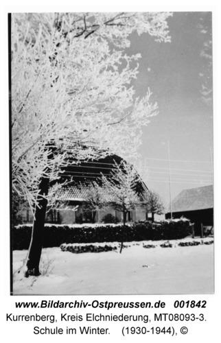 Kurrenberg, Schule im Winter