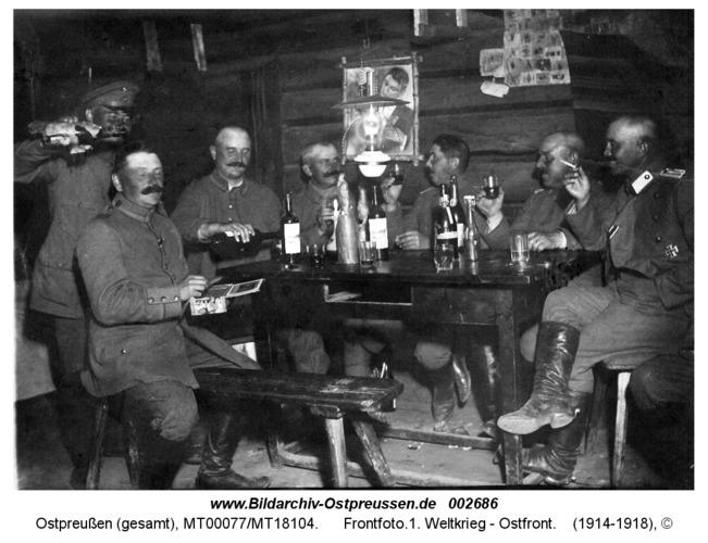 Frontfoto.1. Weltkrieg - Ostfront