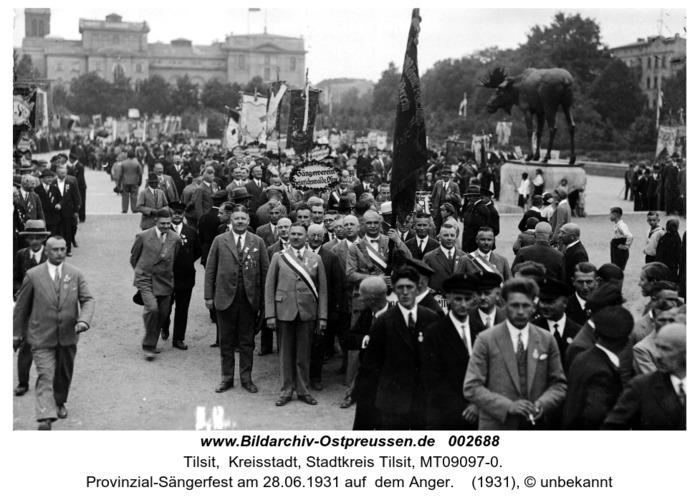 Tilsit, Provinzial-Sängerfest am 28.06.1931