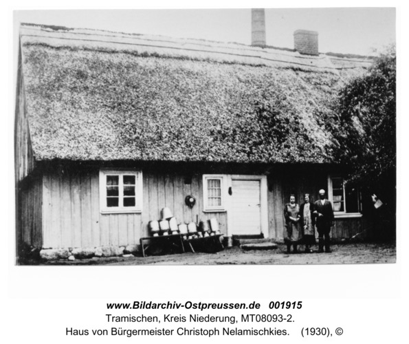 Tramischen, Haus von Bürgermeister Christoph Nelamischkies