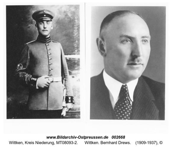 Wittken. Bernhard Drews